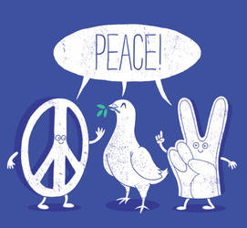 PEACE TALK by dandingeroz