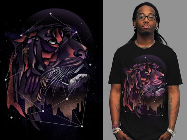 Cosmic Tiger by dandingeroz