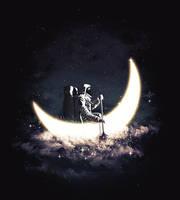 Moon Sailing by dandingeroz
