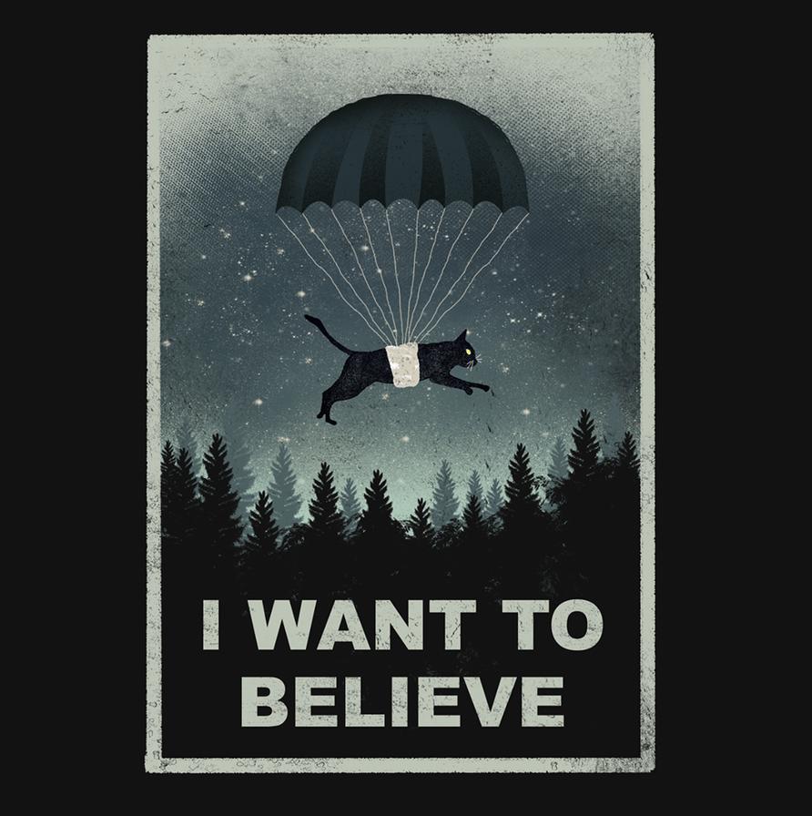 I WANT TO BELIEVE by dandingeroz