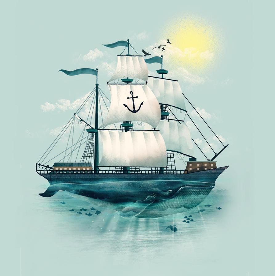 The Whaleship by dandingeroz