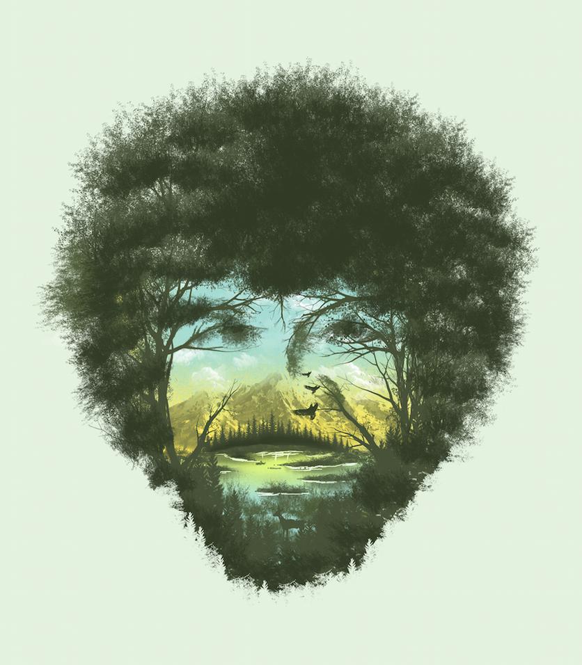 Happy Trees by dandingeroz