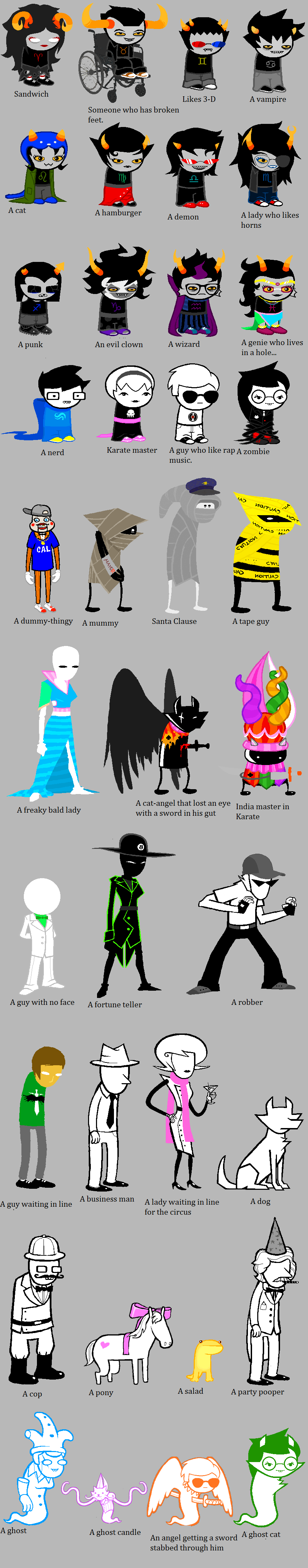 Homestuck according to my cousin Travos by Xx-Diamond-Eyes