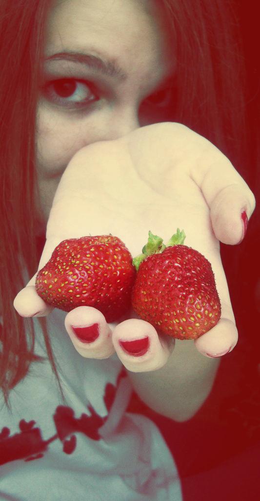 do you want strawberry by Lemonshortcake