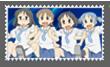 Stamp Nichijou by kaiser-Guille