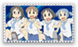 Stamp Nichijou by kaiser-Guille