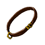 Simple Collar- Brown by ReapersMenagerie