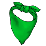 Simple Bandana- green by ReapersMenagerie