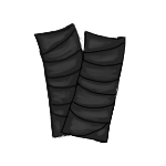 Leg Wraps - Black by ReapersMenagerie