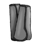 Shin Guards - Charcoal by ReapersMenagerie