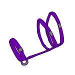 Simple Halter - Purple by ReapersMenagerie