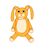 Bunny Plush by ReapersMenagerie