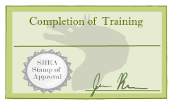 Silver Training Certificate by ReapersMenagerie