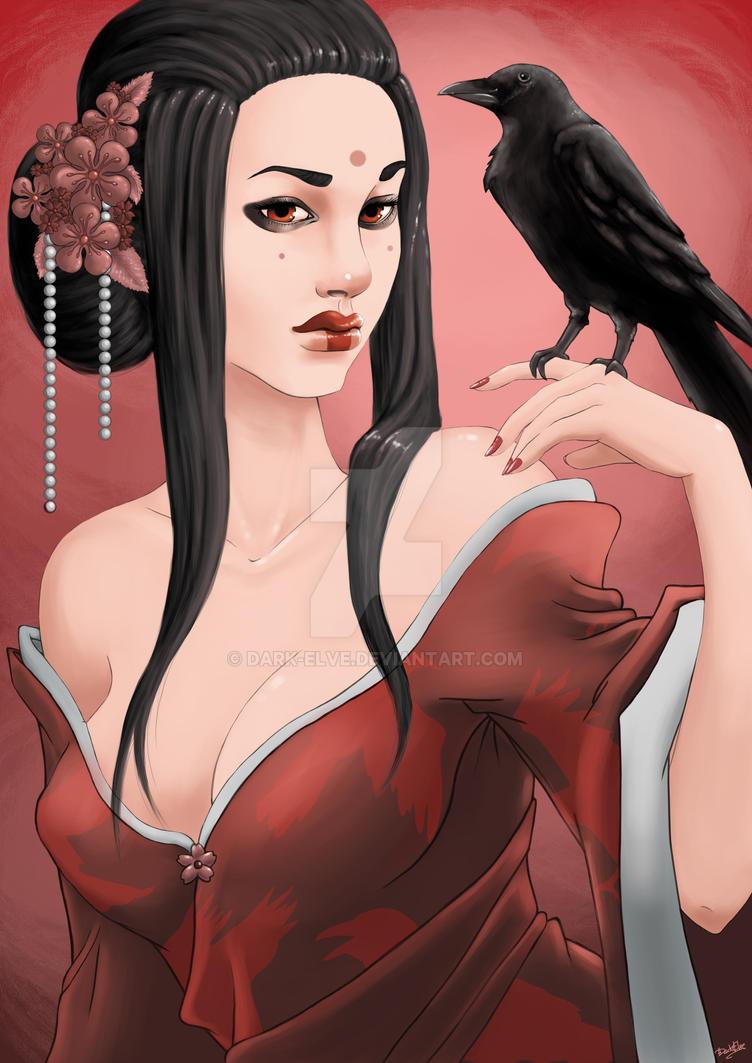 Crow by Dark-Elve