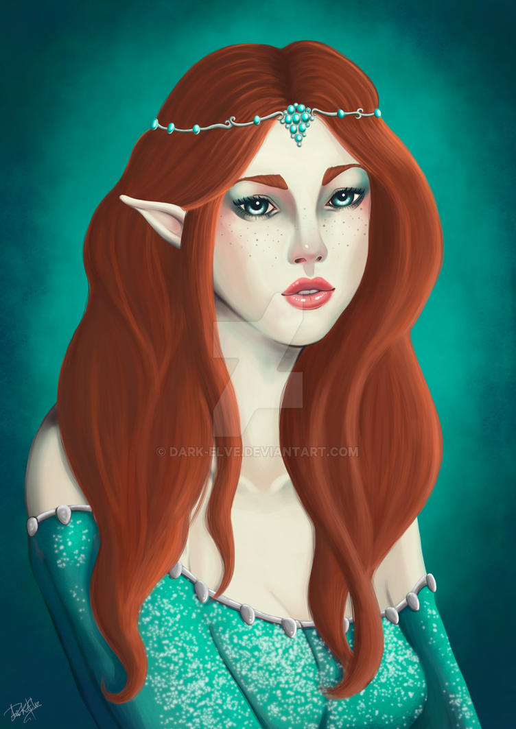 Elf Princess by Dark-Elve