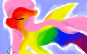 Fluttershy's Dream by Jadedhyrt