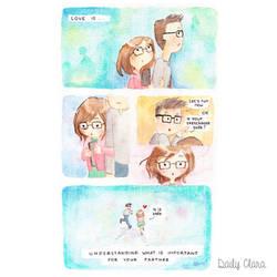 Valentine Comic