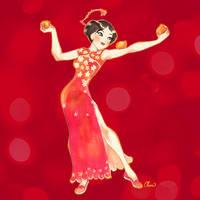 Chinese New Year Mulan Fanart