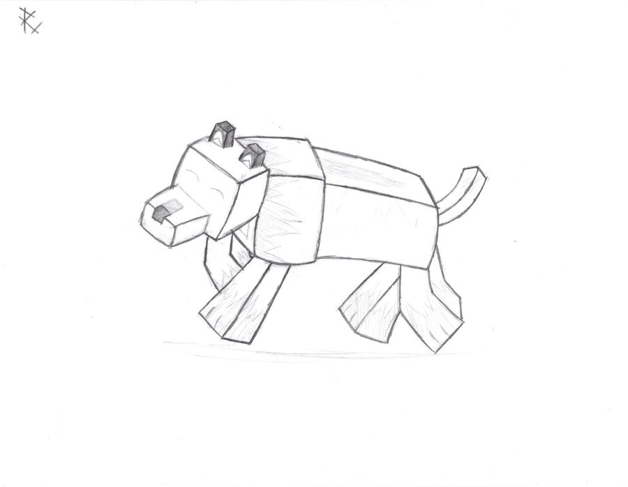 Pin Minecraft Wolf Colouring Pages On Pinterest Minecraft Coloring Pages Wolf