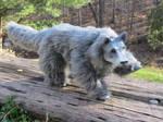 Wolf Hybrid - Posable Doll