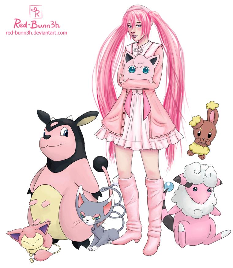 Pink Pokemon... Shiny Legendary Pokemon Black 2
