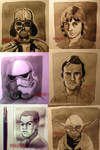 Star Wars Characters (365 Drawing Challenge)
