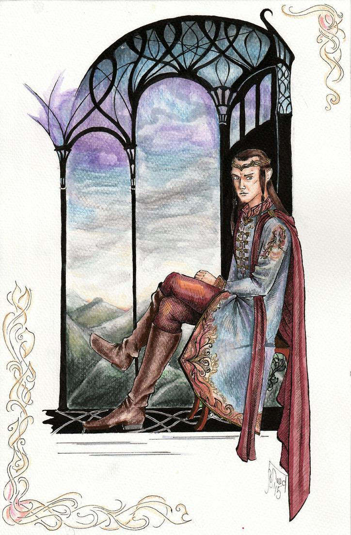 Elrond by Grennara