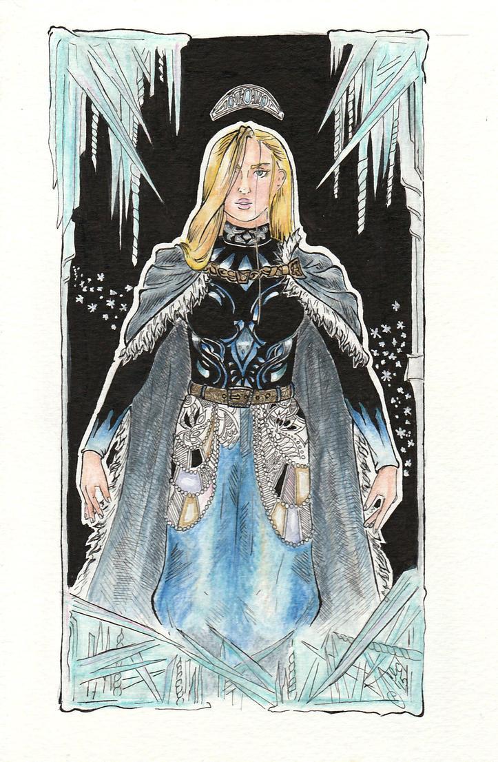 Snow queen by Grennara