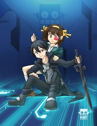 Cross System Haruhi Kirito