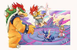 Crono Triggers the Battle / Chrono Trigger x Smash
