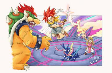 Crono Triggers the Battle / Chrono Trigger x Smash by ciberman001