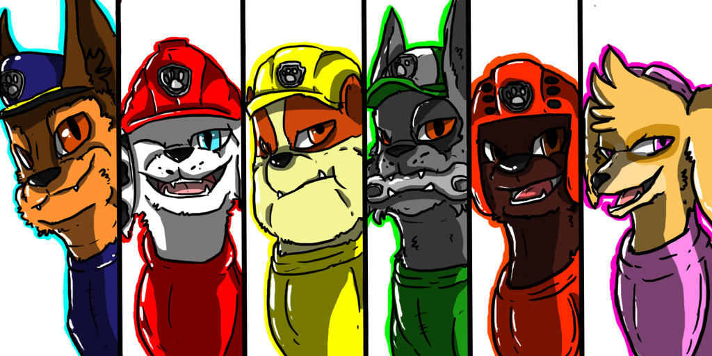 All Grown Up Paw Patrol By Puplip