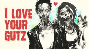 Zombie love card