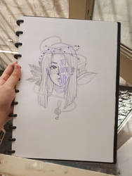 i guess risking my sketchbook is my thing now :/ by PrezLollipop