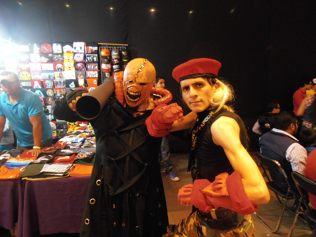 Resident Evil X  Street Fighter by ChrisNext