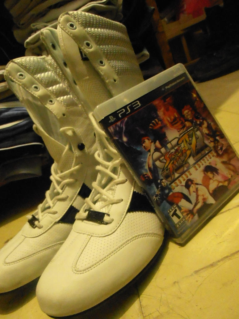 Chun Li shoes and SSFIV game here by ChrisNext