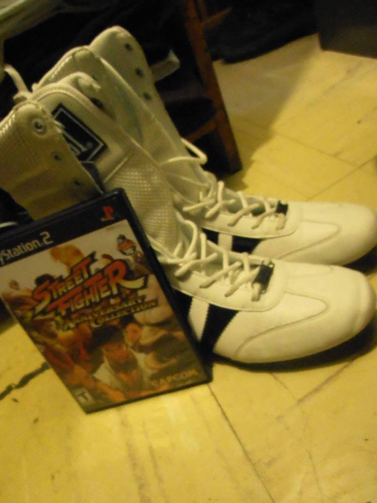 Chun Li Shoes and SF Anniversary Collection by ChrisNext