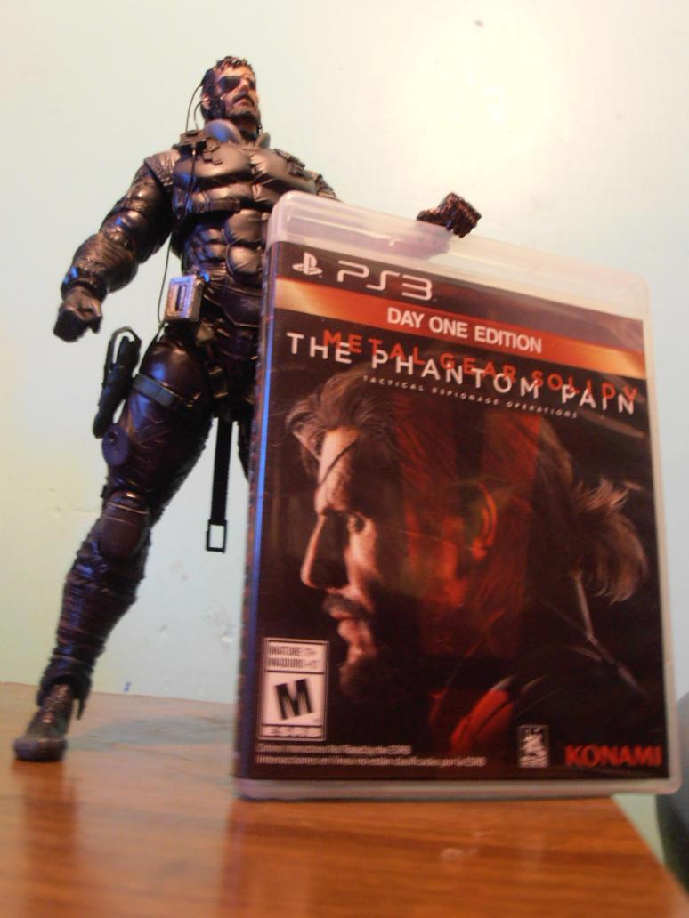 Venom Snake with MGSV:TPP game by ChrisNext