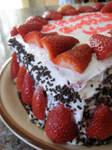 Red Velvet Strawberry Cake II