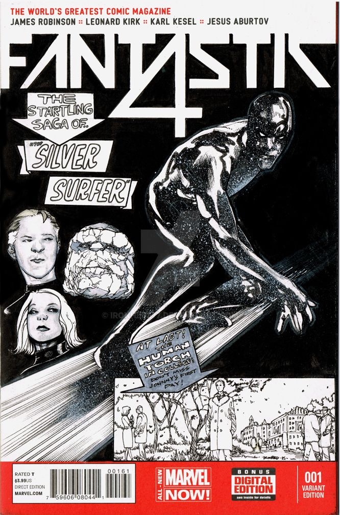 Fantastic4comiccover by ironhed577