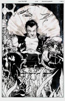 Squadron Supreme #13 Cover featuring Namor
