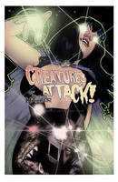 Creatures Attack #1 NYCC Exclusive  Booth#1046