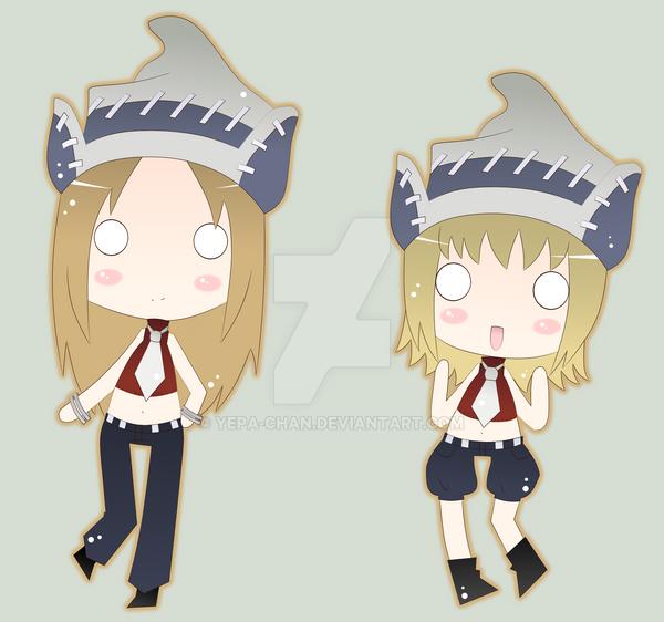 Patty and Liz by Yepa-chan