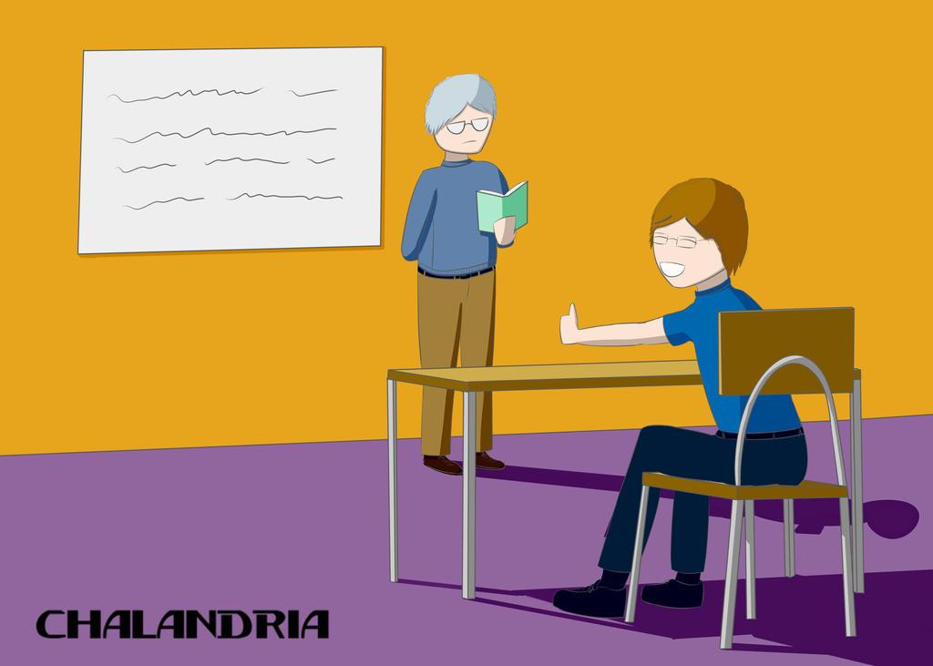 School Thing by chalandria