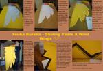 Touka Kureha Arm Wings