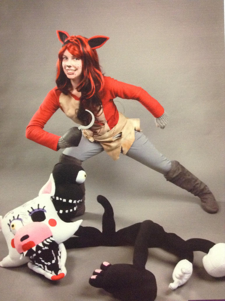 Fnaf cosplay foxy and mangle by mjdillusion on deviantart