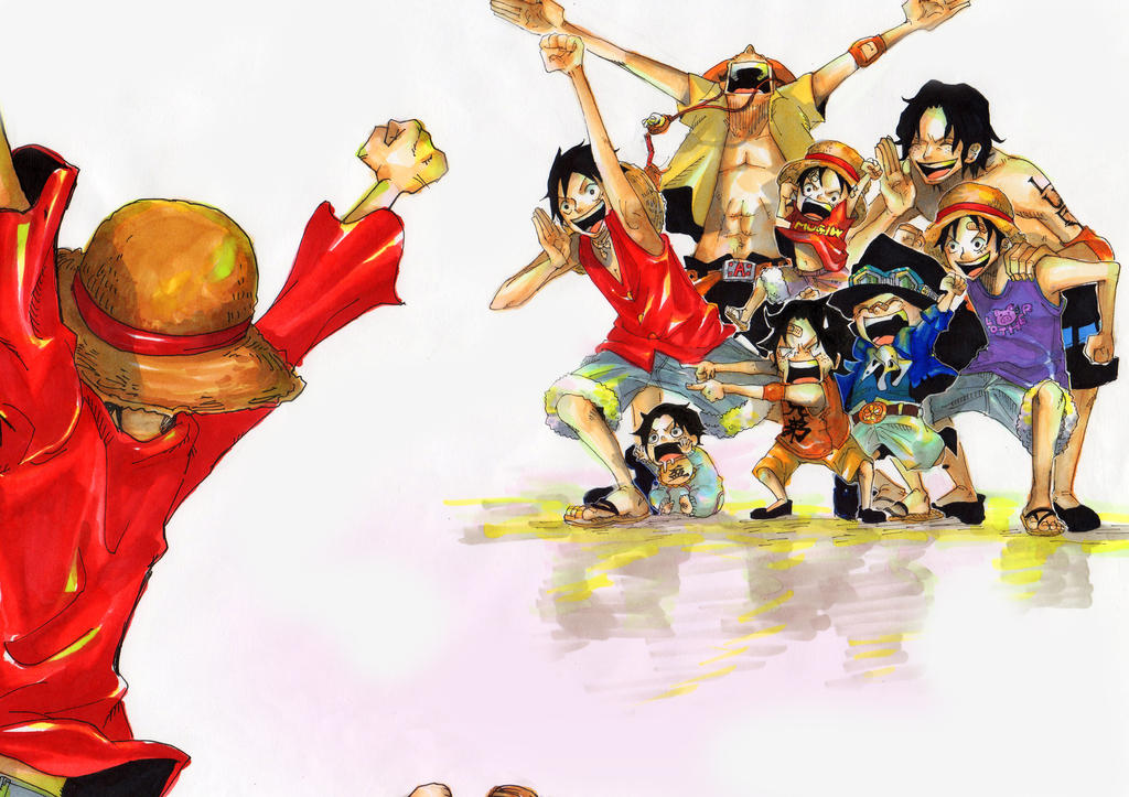 one piece Go Luffy! by 1Roxas14