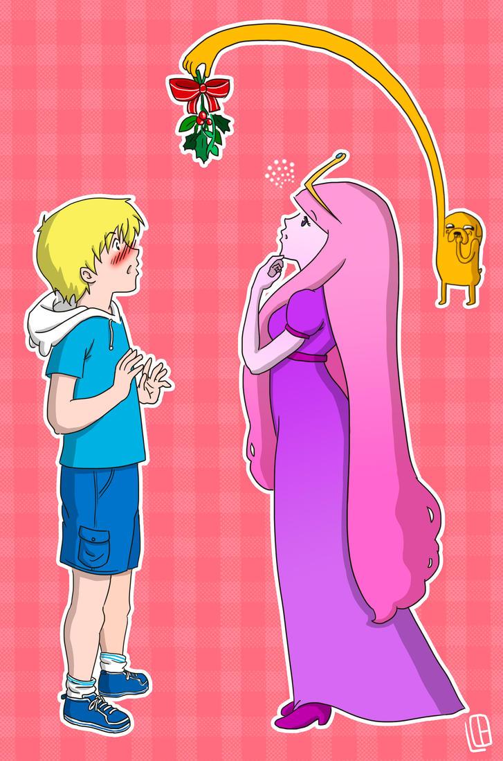 Finn and princess bubblegum in bed