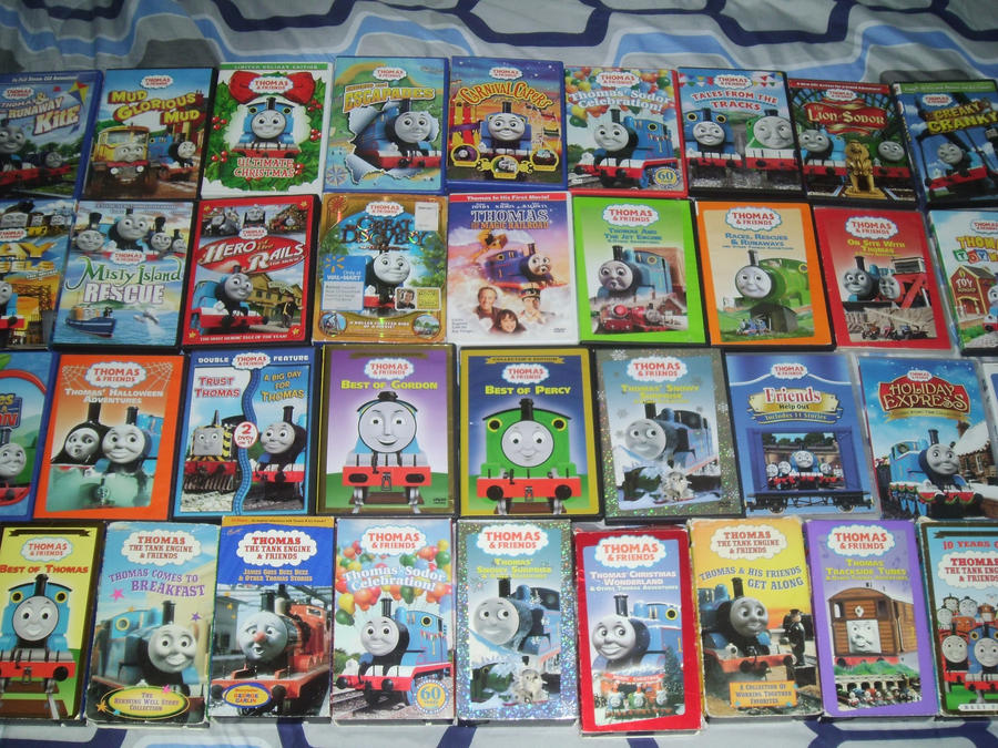 all of my thomas friends vhs dvd collection by