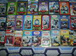 All My Thomas Tank Engine VHS DVD Collection